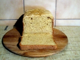 Bílý sezamový chléb bez lepku, mléka a vajec recept