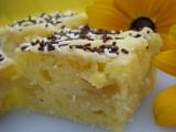 Citrónový koláč s hruškami recept