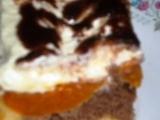 Dvoubarevné broskvové řezy recept