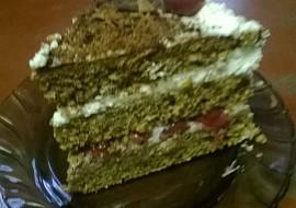 Višňový dort recept