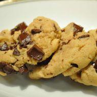 Mandlové cookies s čokoládou recept