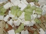 Těstoviny s balkánským sýrem recept