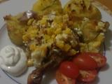 Kuřecí stehýnka se zakysanou smetanou recept