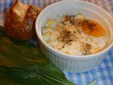 Vejce zapékané s medvědím česnekem recept