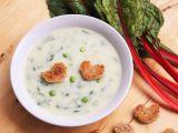 Krémová květáková polévka s mangoldem recept