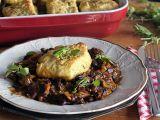 Pivní fazolové ragú s houbami a bramborovými houstičkami recept ...