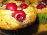 Čokoládovo třešňové muffiny recept