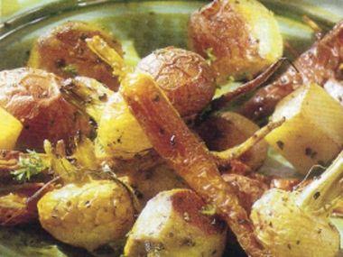 Zelenina s tymiánem