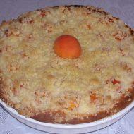 Meruňkový koláč s tvarohem recept