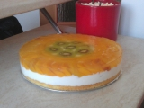 Ovocný dortík se želatinou recept