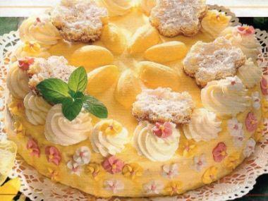 Velikonoční jemný dort
