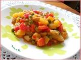 Pikantní kuřecí paella z brambor recept