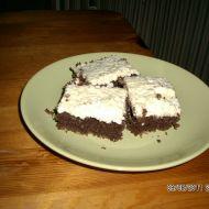 Kakaové řezy s kokosem recept