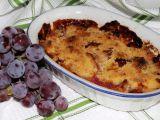 Jablkový křupanec s hroznovým vínem recept