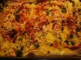 Zapečený chřest se sýrem, vejci a s uzeninou recept