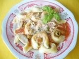 Tortellini s rajčatovou omáčkou recept