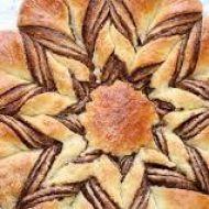 Pletený koláč s nutellou recept
