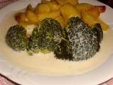 Brokolice s hermelínovou omáčkou recept