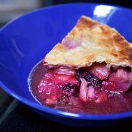 Jablkovo-borůvkový koláč recept