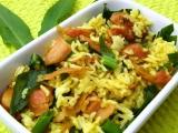 Rýže s uzeným kuřetem a medvědím česnekem recept ...