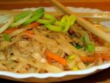 Čínské nudle recept