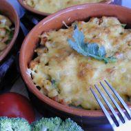 Gnocchi zapečené s masem a brokolicí recept