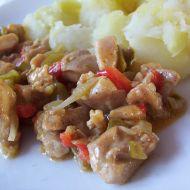 Pikantní kuřecí na kapii recept