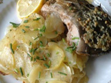 Ryba na šalvěji  původní recept kolem r. 1850