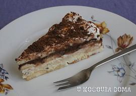 Studený piškotový dort recept