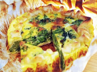 Brokolicovo-sýrová nádivka