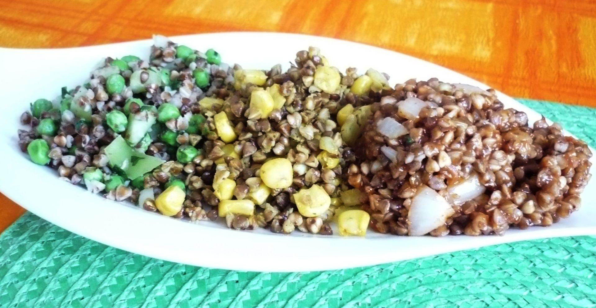 Tříbarevná pohanka recept