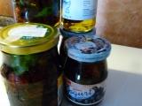 Konzervovaná sušená cherry rajčátka s bílou paprikou v oleji recept ...