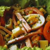 Pařížský salát recept