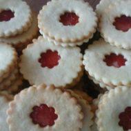 Slepované linecké koláčky recept