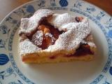 Křehký perníkový koláč s ovocem recept
