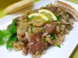 Zelene boby s hovezim masem a ryzi recept