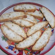Židovský mandlový chlebíček recept