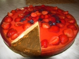Cheesecake s ovocem recept