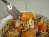 Těstoviny s tresčími játry a máslovou dýní recept