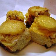 Zapečené brambory s květákem a goudou recept