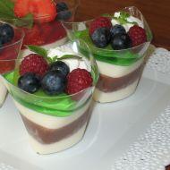 Panna cotta s jahodami recept