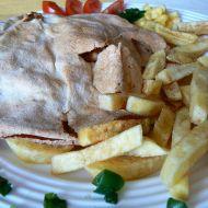 Libanonský chléb s kuřecí směsí recept