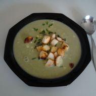 Jarní polévka z medvědího česneku recept