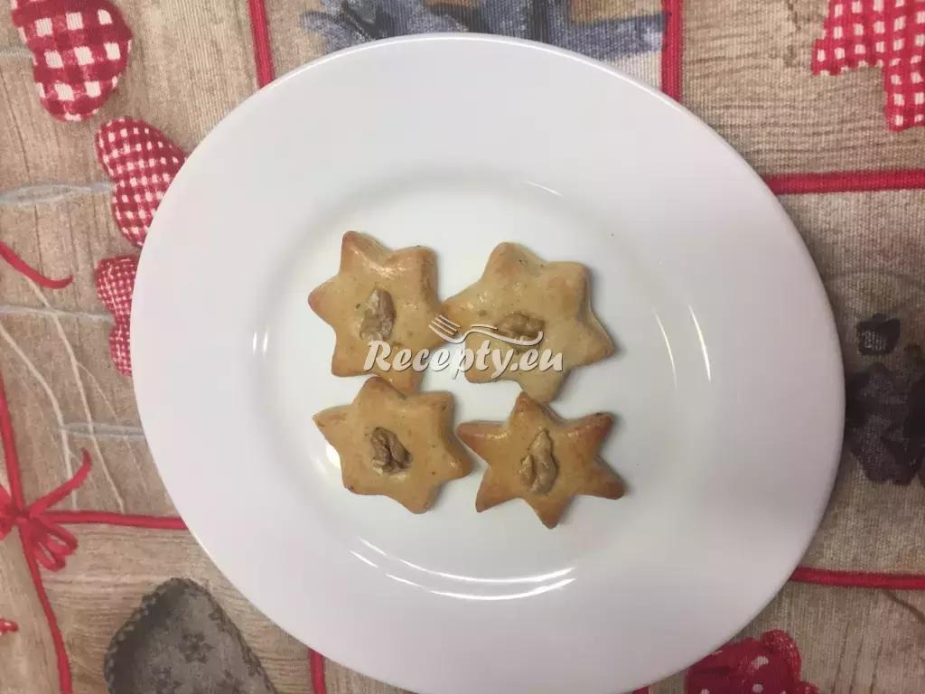 Mandlové hvězdičky recept  nejen vánoční cukroví