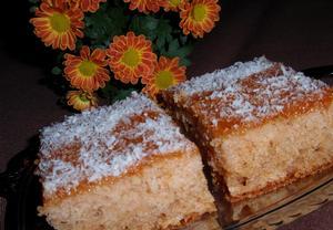 Buchta (koláč) z přesnídávek  jednoduchá a vláčná