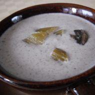 Krémová žampionová polévka recept