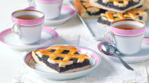 Pruský mřížkový koláč