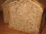 Grahamový kváskový chléb recept