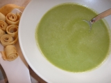 Krémová mangoldová polévka recept