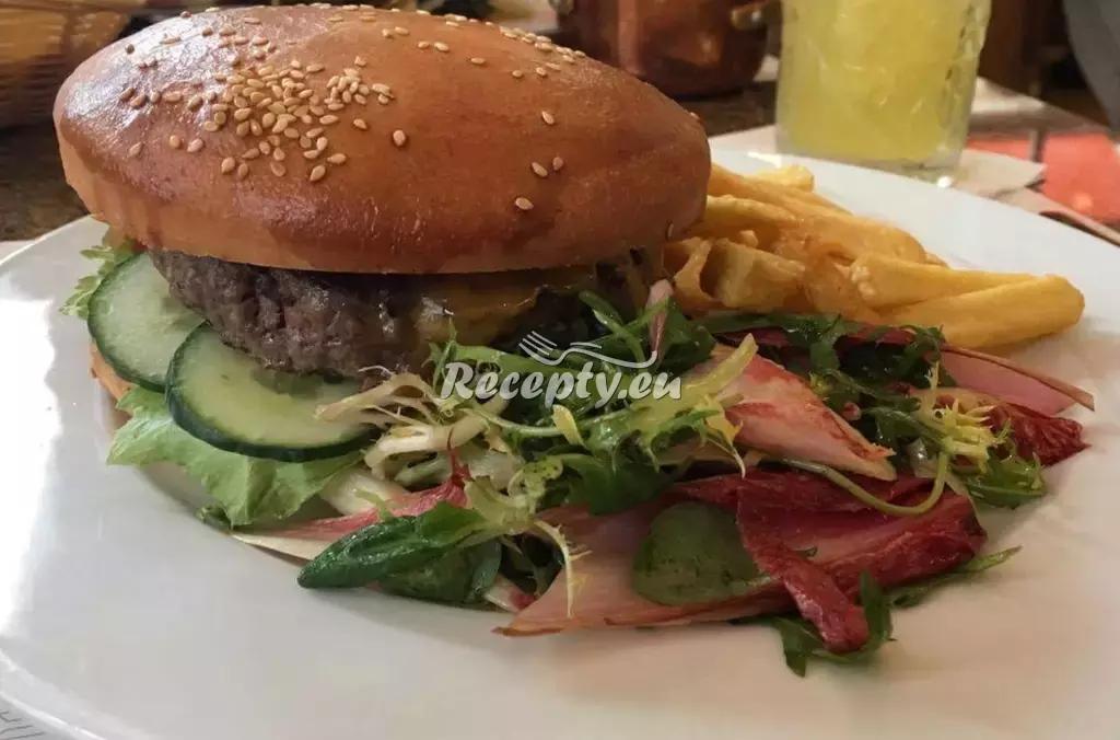 Maxi hamburger recept  mleté maso